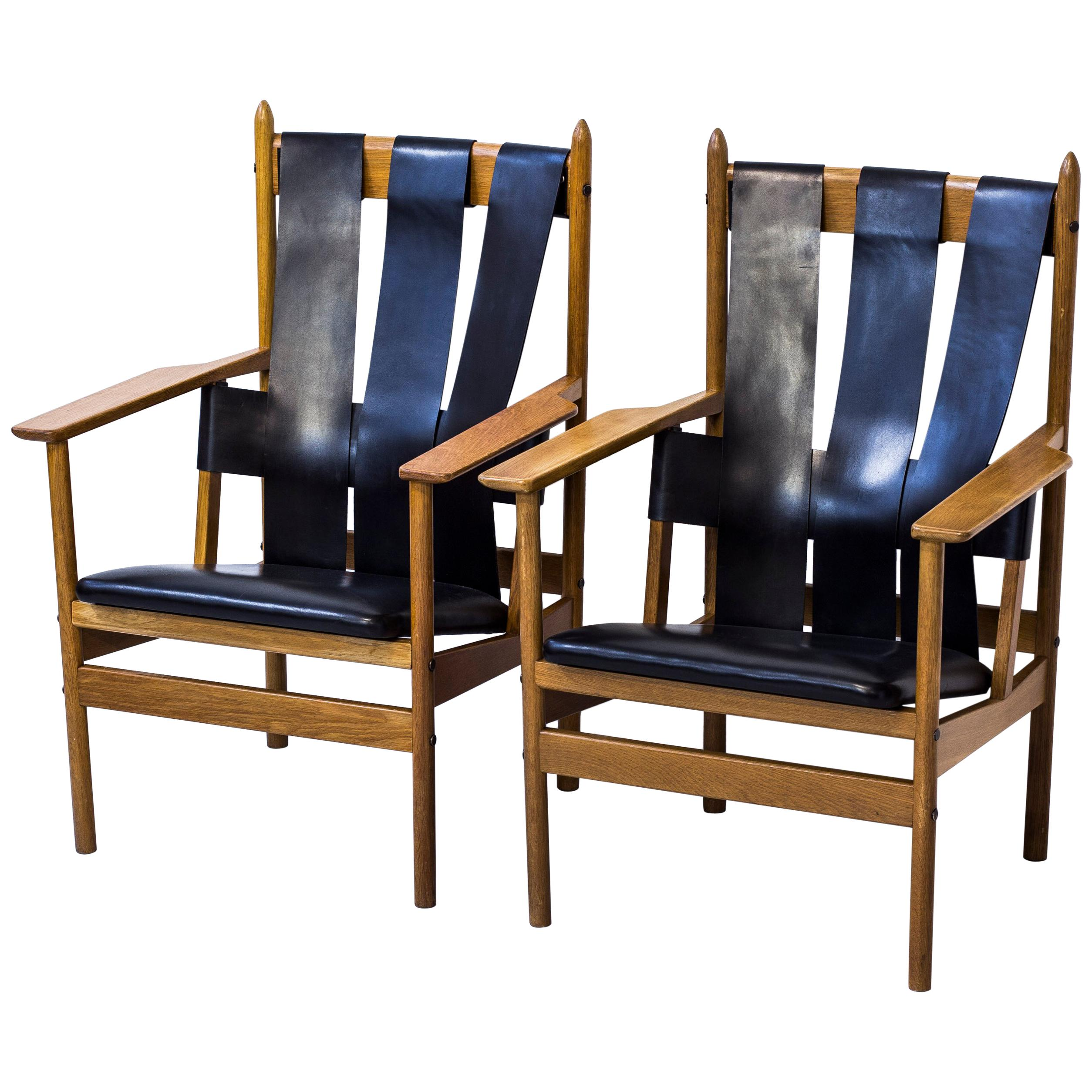 1950s Lounge chairs by Gunnar Eklöf