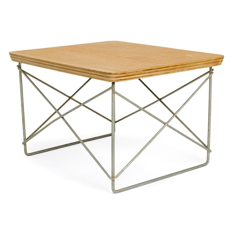 Mid-Century Modern 1950s LTR Occasional Table by Charles & Ray Eames for Herman Miller For Sale