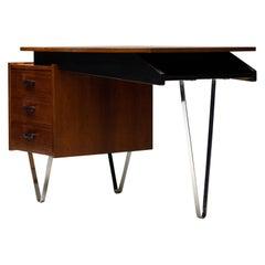"1950s ""Madmen"" Hairpin Desk"