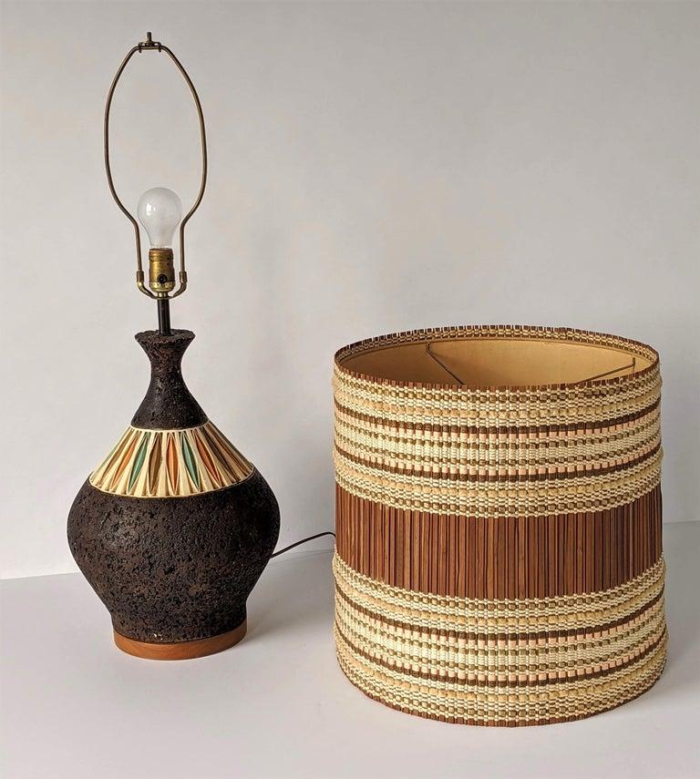 1950s Maria Kipp Table Lamp Shade, USA For Sale 3