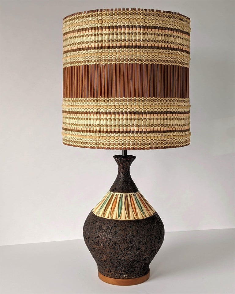 1950s Maria Kipp Table Lamp Shade, USA For Sale 5