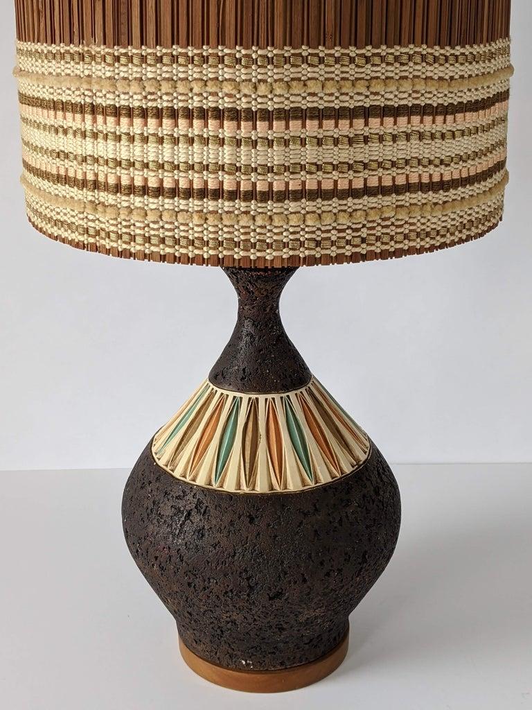 Mid-Century Modern 1950s Maria Kipp Table Lamp Shade, USA For Sale