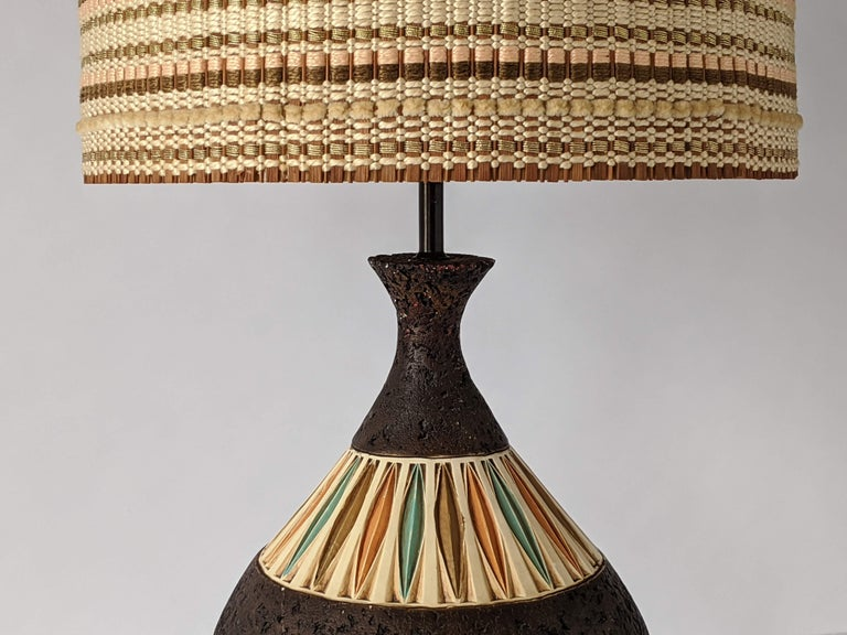 American 1950s Maria Kipp Table Lamp Shade, USA For Sale