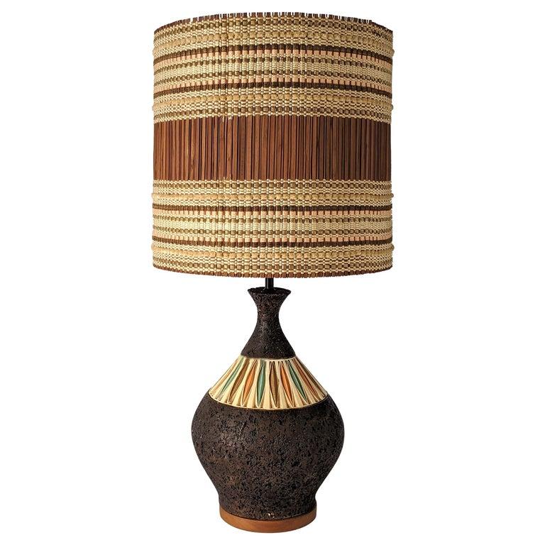 1950s Maria Kipp Table Lamp Shade, USA For Sale