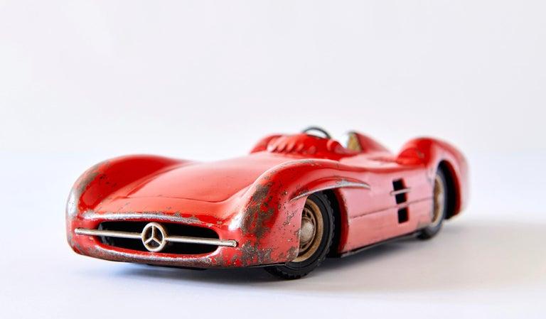 Steel 1950s Mercedes-Benz W196 Metal Toy Car by Johann Neuhierl Fürth