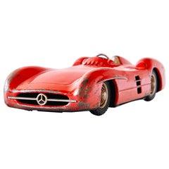 1950s Mercedes-Benz W196 Metal Toy Car by Johann Neuhierl Fürth