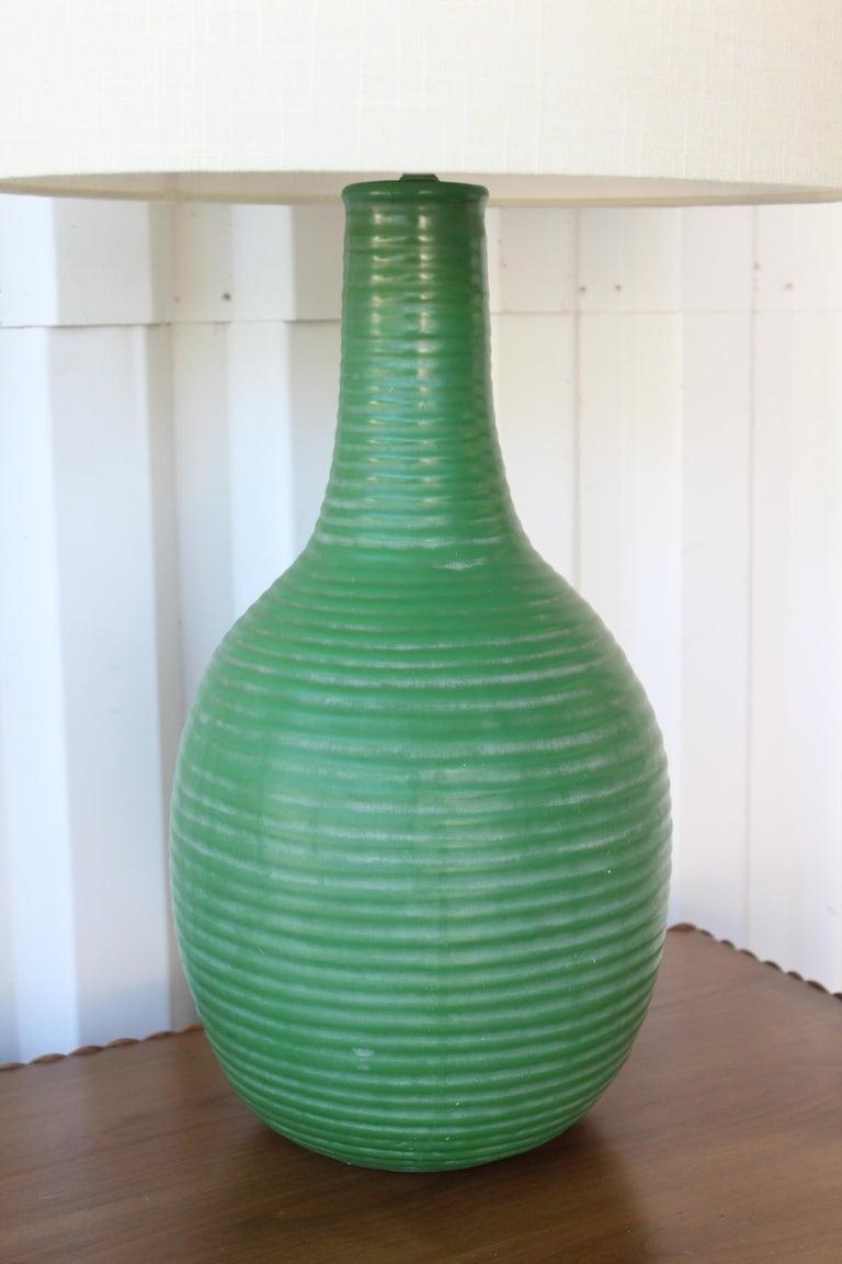 1950s Mid-Century Ceramic Lamp For Sale 4