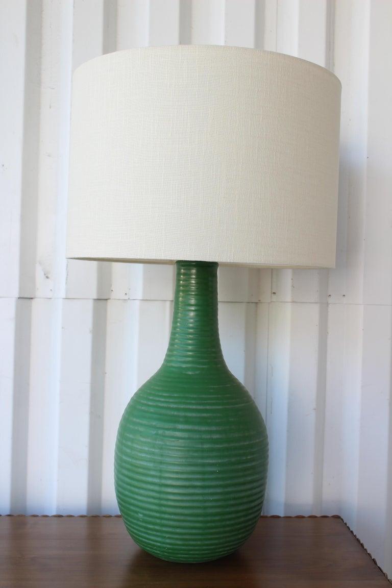 Mid-Century Modern 1950s Mid-Century Ceramic Lamp For Sale