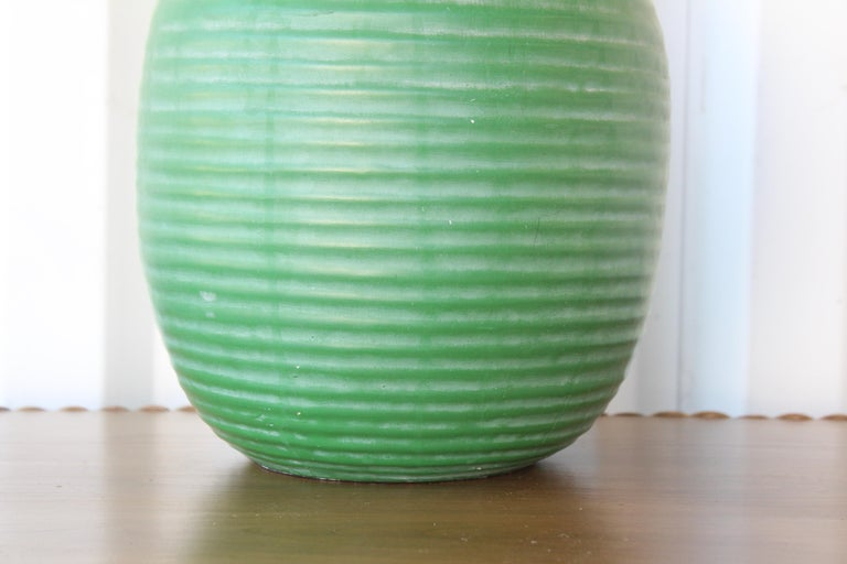 1950s Mid-Century Ceramic Lamp In Excellent Condition For Sale In Los Angeles, CA