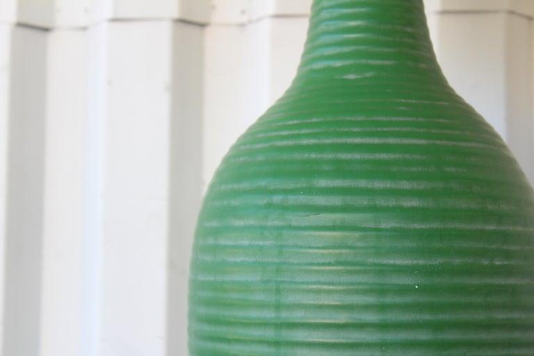 Mid-20th Century 1950s Mid-Century Ceramic Lamp For Sale