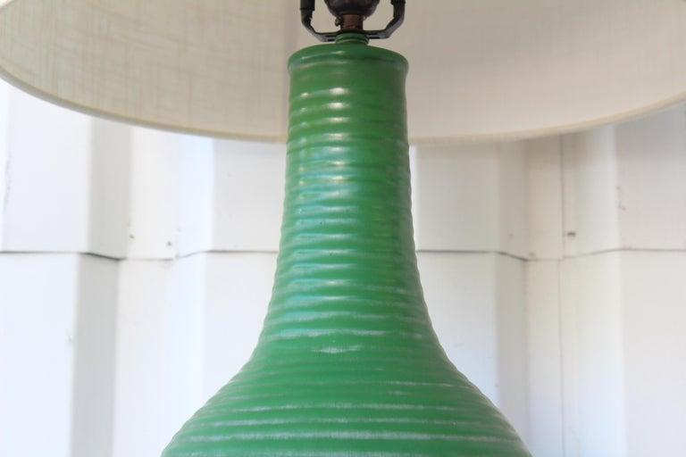 1950s Mid-Century Ceramic Lamp For Sale 1