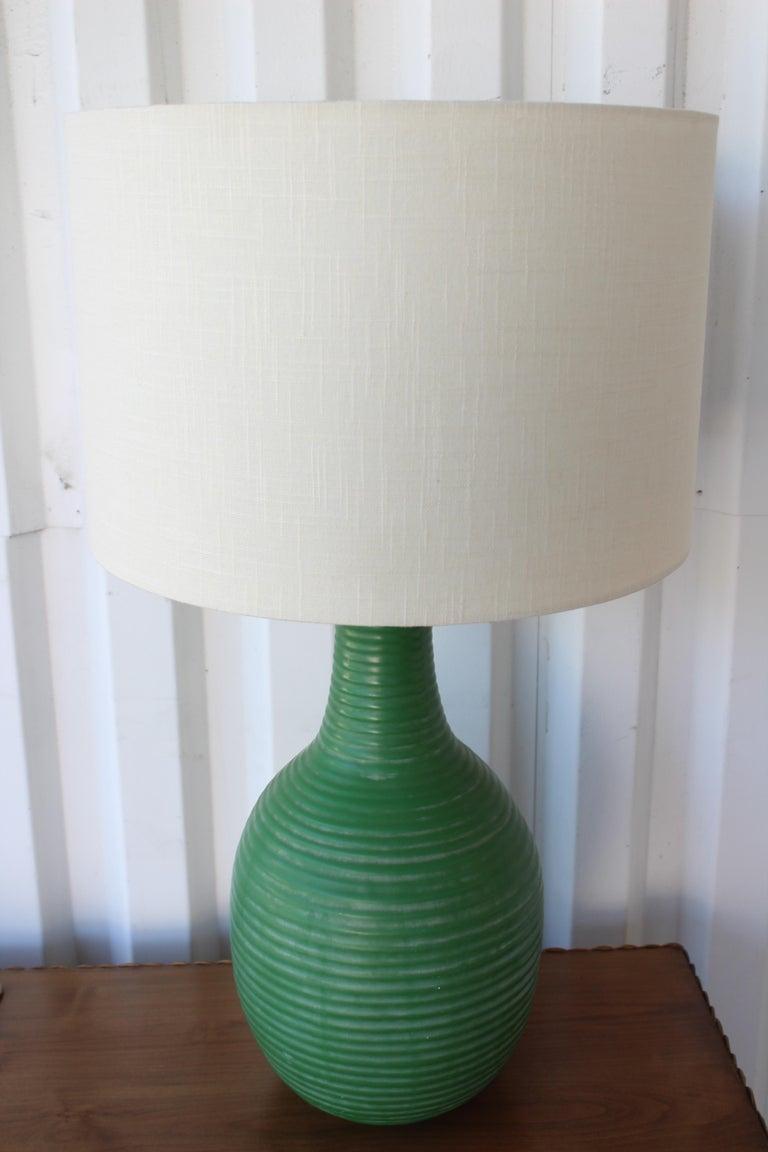 1950s Mid-Century Ceramic Lamp For Sale 2