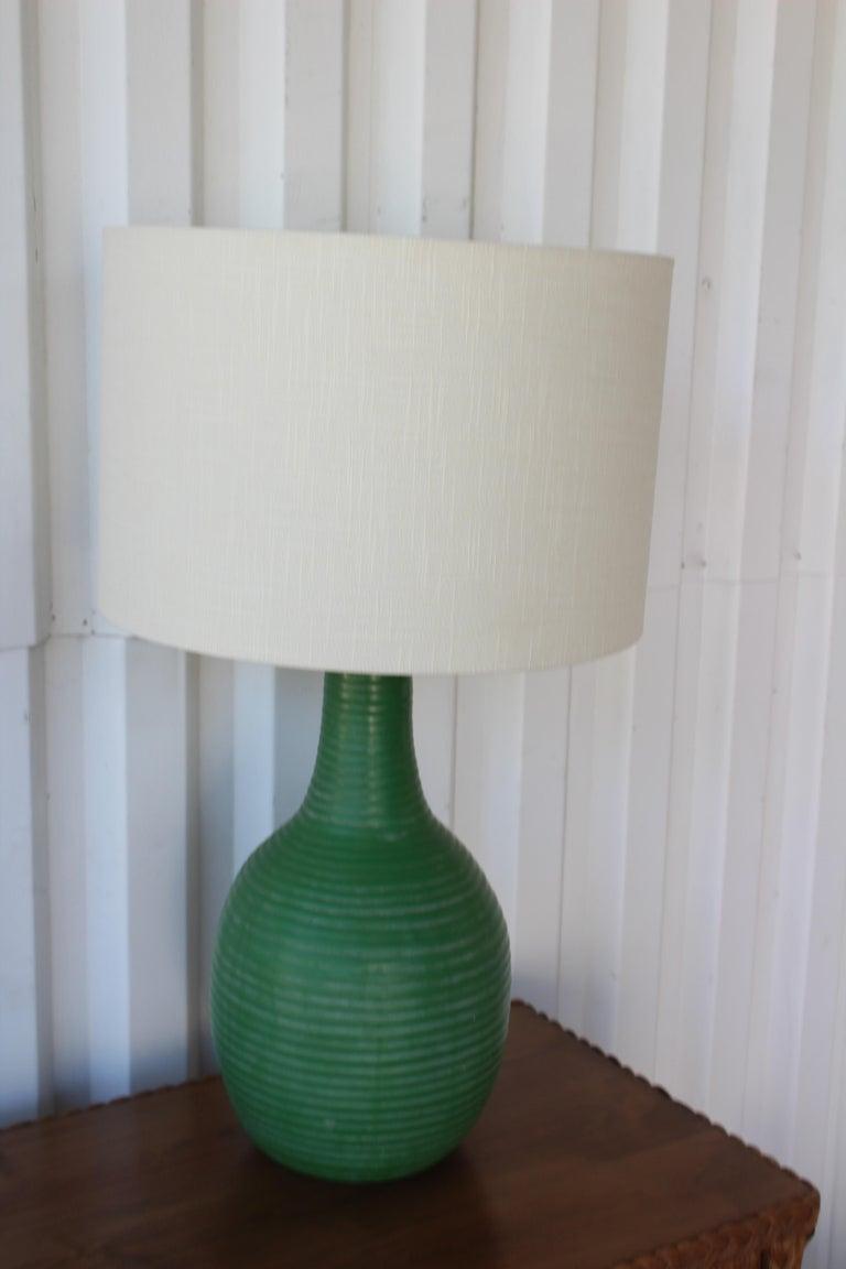 1950s Mid-Century Ceramic Lamp For Sale 3
