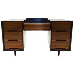 1950s Midcentury John and Sylvia Reed Dresser/Desk Cabinet