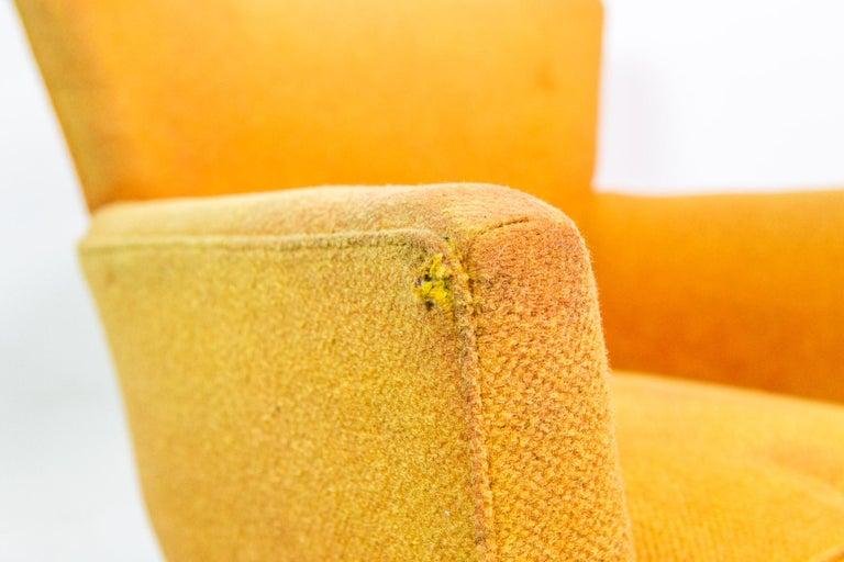 1950s Mid-Century Modern Lounge Armchair by Henry Glass For Sale 1