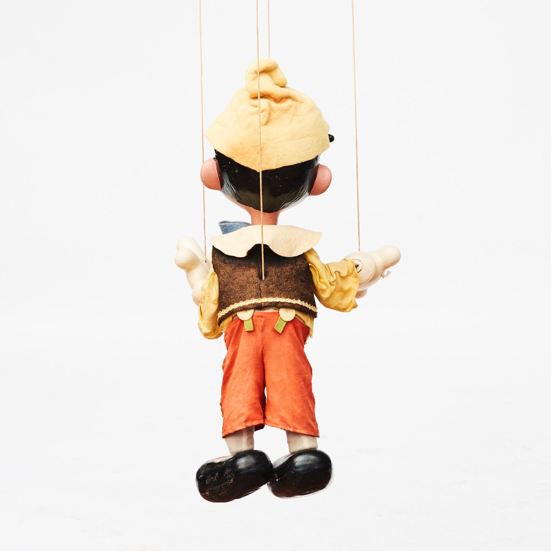 Antique Pinocchio Puppet Antique Pelham Puppets Antique Disney Toy Vintage Disney