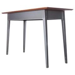 1950s Midcentury Slim Desk, Console Table by ESA James Leonard, Esavian