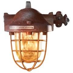 1950s Mining RWSO Anti-explosion Lamp Raw