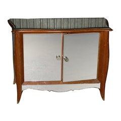1950s Mirror-Clad Buffet