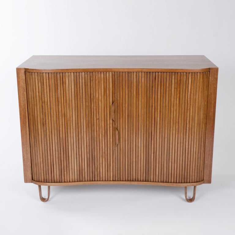 Mid-Century Modern 1950s Mister Cabinet in Mahogany by Edward Wormley for Dunbar For Sale