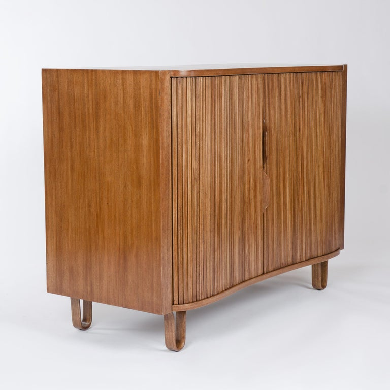 1950s Mister Cabinet in Mahogany by Edward Wormley for Dunbar In Good Condition For Sale In Sagaponack, NY