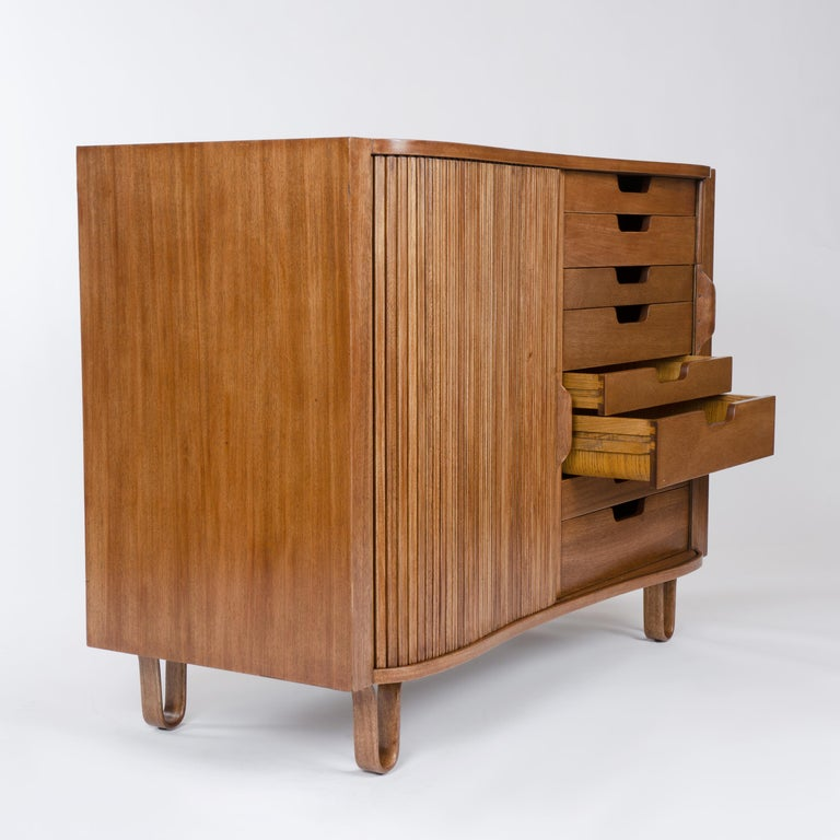 Mid-20th Century 1950s Mister Cabinet in Mahogany by Edward Wormley for Dunbar For Sale