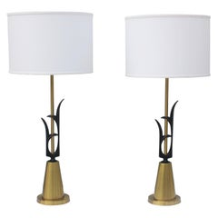 1950s Modern Rembrandt Table Lamps