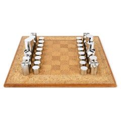 1950s Modernist Chess Set