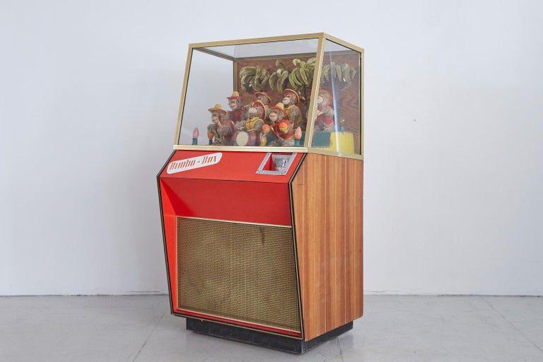 German 1950s Monkey Band Jukebox For Sale