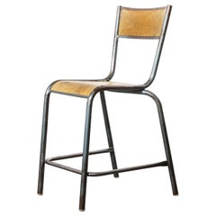 1950s Mullca High Laboratory Stacking Dining Chairs, Set of Twenty Four