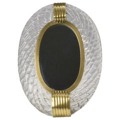 1950s Murano Vanity Mirror or Photo Frame by Carlo Scarpa for Venini