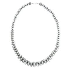 1950s Navajo Sterling Necklace