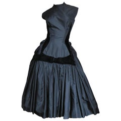 1950s Neusteters Silk Dress