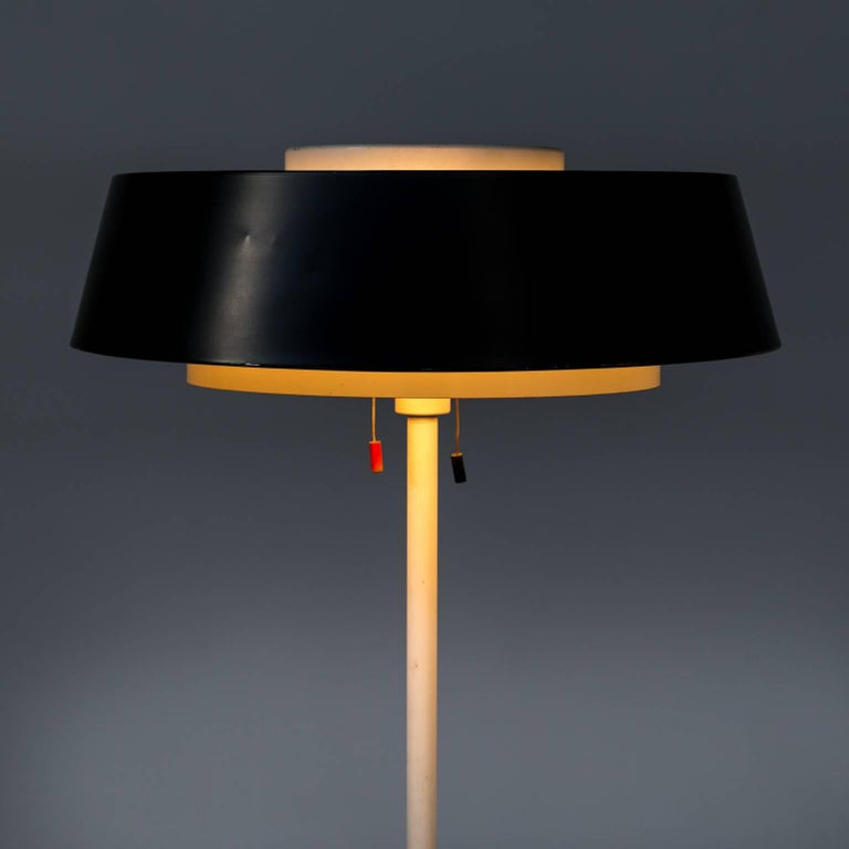 1950s Niek Hiemstra 'ST 7128' Floor Lamp for Hiemstra Evolux In Good Condition For Sale In Amstelveen, Noord