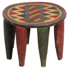 1950s Nigerian Eight-Leg Nupe Stool