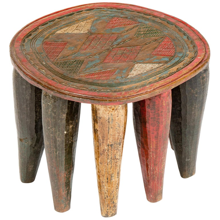 1950s Nigerian Nupe Stool For Sale