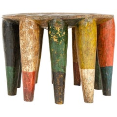 1950s Nigerian Nupe Tribal Stool