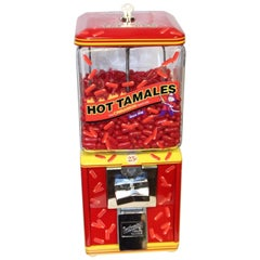 1950s Northwestern Hot Tamales Themed Candy Machine