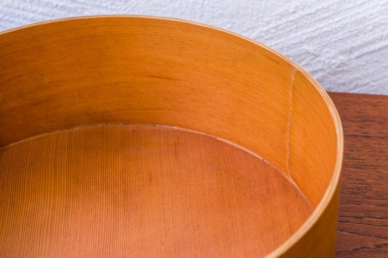 1950s Oregon Pine Bowl by Torsten Johansson In Excellent Condition In Stockholm, SE