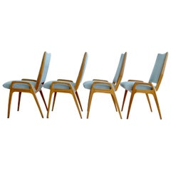 1950s Organic Shaped Dining Room Chairs