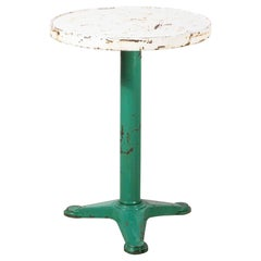 1950's Original French Small Tolix Gueridon Table