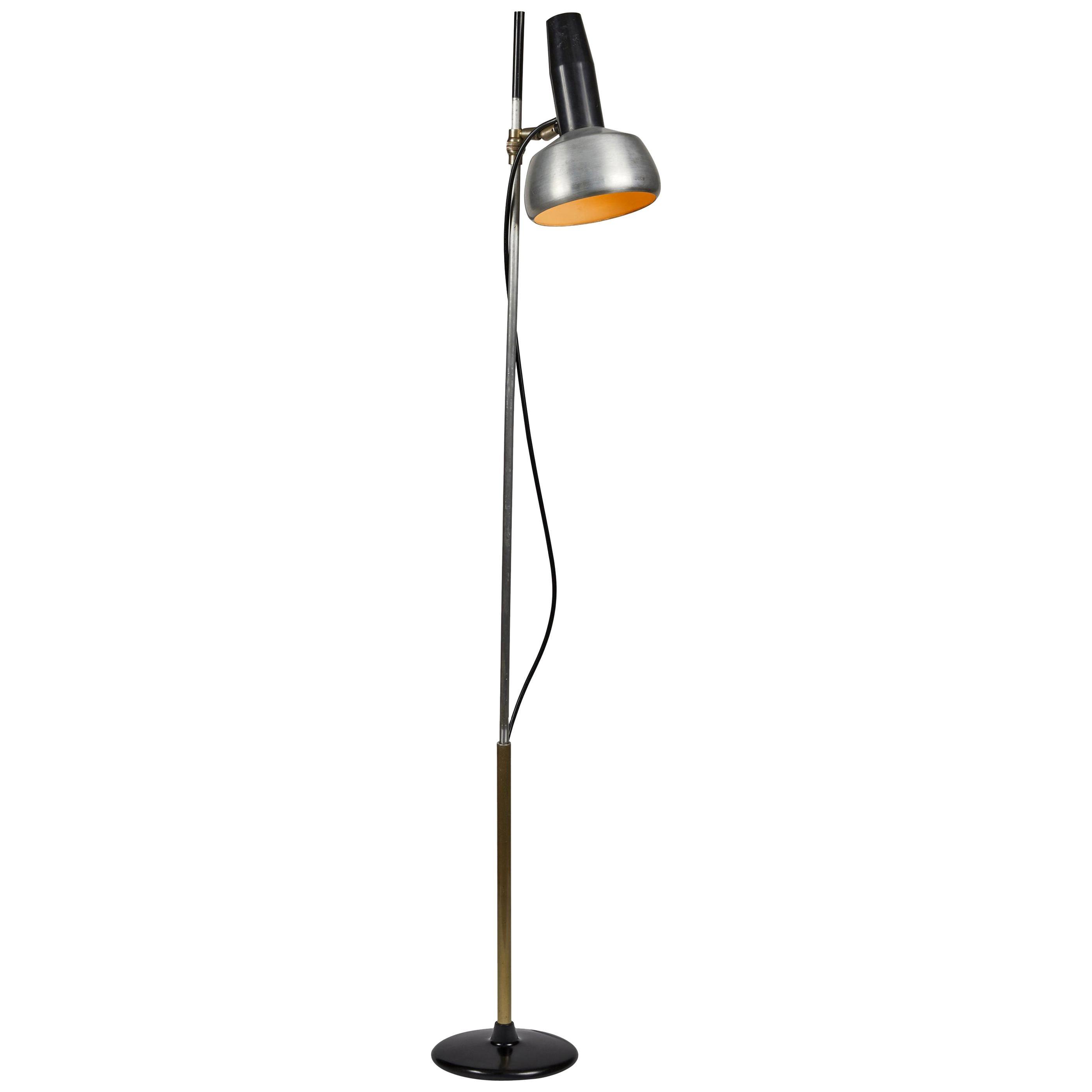 1950s Oscar Torlasco Floor Lamp Model for Lumi