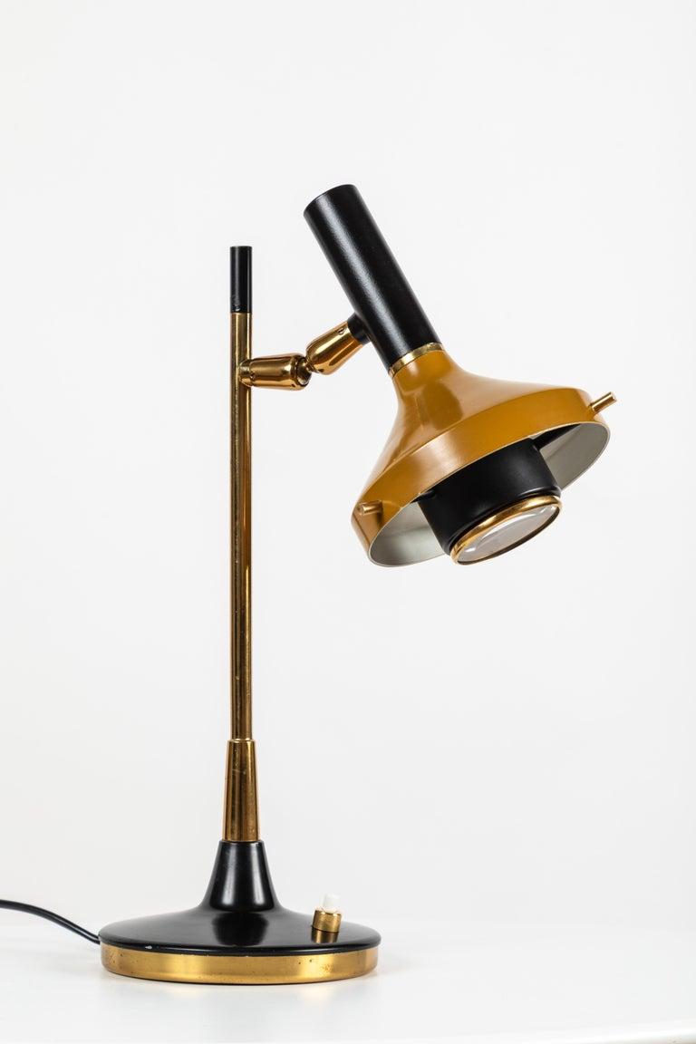 Italian 1950s Oscar Torlasco Table Lamp Model 553/P for Lumi For Sale