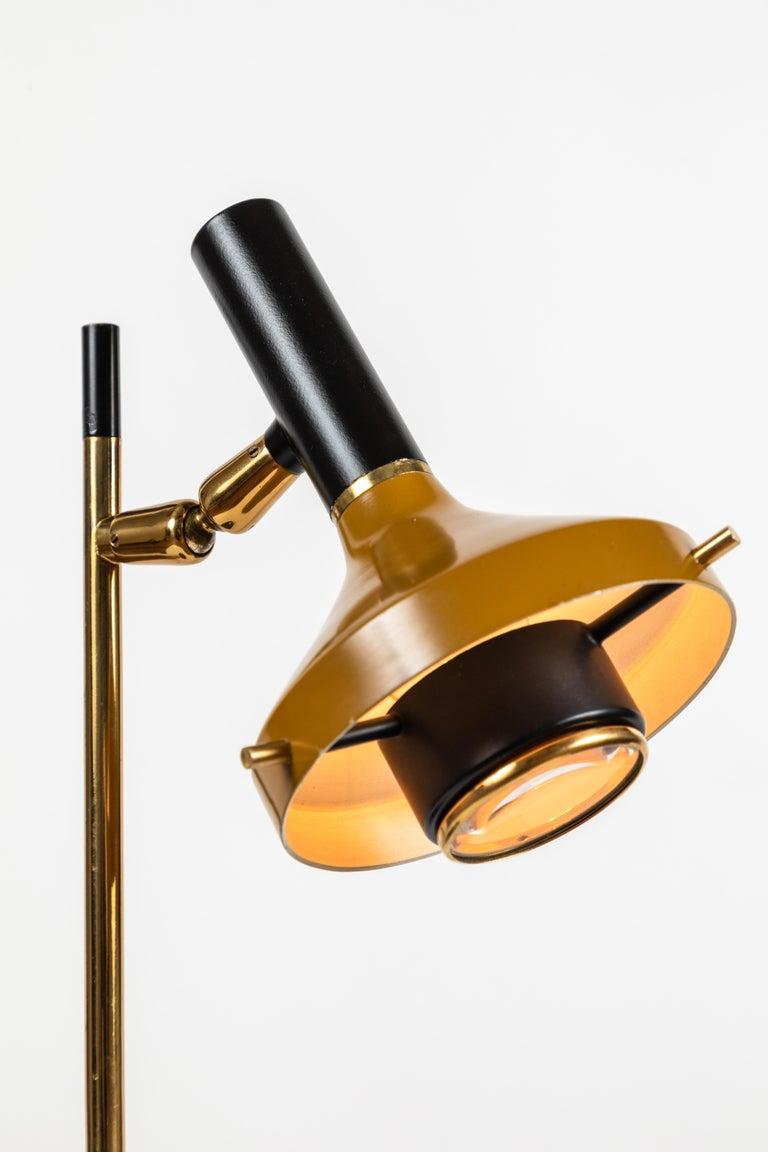 1950s Oscar Torlasco Table Lamp Model 553/P for Lumi For Sale 1