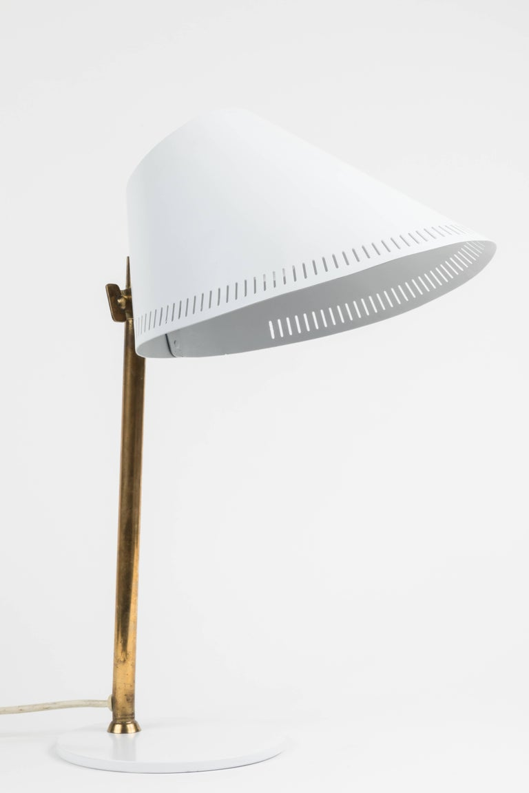 1950s Paavo Tynell 9227 Table Lamp for Idman In Good Condition For Sale In Glendale, CA