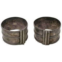 1950s Pair of African Ethnic Bracelets