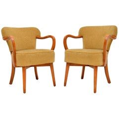 1950s Pair of Vintage Cocktail Armchairs