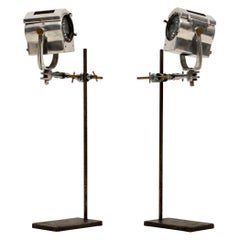 1950s Pair of Vintage Spotlights / Table Lamps