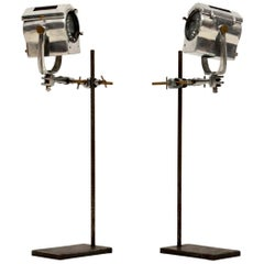 1950s Pair of Vintage Spotlights or Table Lamps