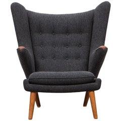 1950s Papa Bear Chair by Hans Wegner 'e'